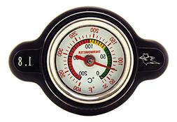 Outlaw Racing OR3126 High Pressure Temperature Gauge Radiato