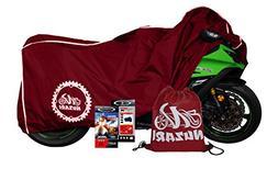 Premium Grade Weather Resistant Motorcycle Cover. Waterproof