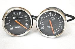 RS Vintage Parts EBY0131 Smith Replica Speedometer Tachomete