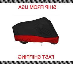 Red Black Yamaha RoadStar Road Star 1700 Motorcycle Cover XX