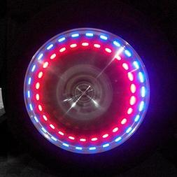 Sedeta 1pcs Solar Power Car/ Bike/ Motorcycle Colorful Amazi