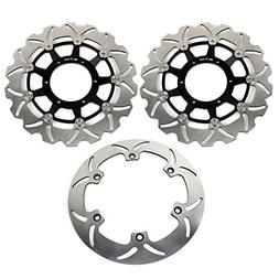 TARAZON Front Rear Brake Disc Rotor for Honda VTX 1800 N S T