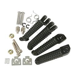 TCMT Front Rear Footrests Foot Pegs For Yamaha YZF R1 2002-2