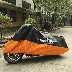 TCMT Motorcycle Covers Waterproof Rain UV Protector For Harl