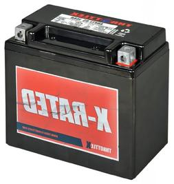 Throttlex Batteries ADX12-BS AGM Replacement Power Sport Bat