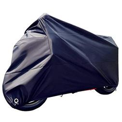 Tokept All-Weather Motorcycle Cover-Heavy Duty Extra Large B