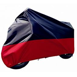 Tokept Black and Red Motercycle Cover Waterproof Sun UV Dust