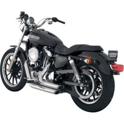 Vance And Hines Chrome Shortshots Staggered Exhaust System F