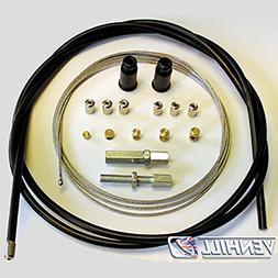 Venhill U01-4-101-BK Universal Motorcycle Throttle Cable Kit