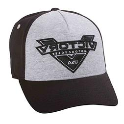 Victory Motorcycle New OEM Black & Grey Marl Baseball Cap Ha