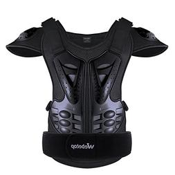Webetop Adults Dirt Bike Body Chest Spine Protector Armor Ve