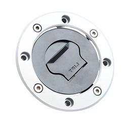 XFMT Fuel Tank Gas Cap Cover Keys For SUZUKI GSXR 600 1997-2