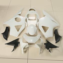 XFMT Motorcycle White Unpainted ABS Plastic Fairing Cowl Bod