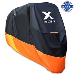 XYZCTEM Motorcycle Cover – All Season Waterproof Outdoor P