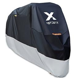 XYZCTEM Motorcycle Cover-All Season Waterproof Outdoor Prote