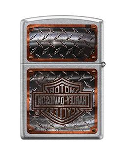 Zippo Harley-Davidson Tire Street Pocket Lighter, Chrome