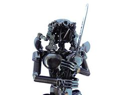 "col-p Aliens Predator Figure 7"" inches Hybrid Scrap Welded"