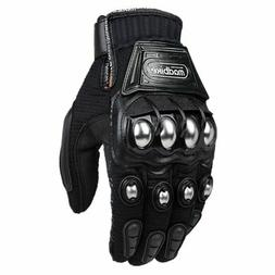 ILM Alloy Steel Outdoor Gloves Motorcycle Powersports Racing
