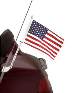 Show Chrome Accessories 52-713 Antenna Mount USA Flag Pole K