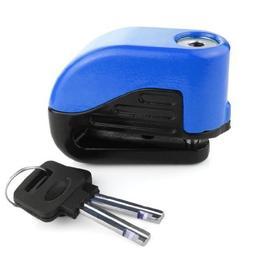 Anti Thief Sound Security Alarm Electron Disc Brake Lock 6mm