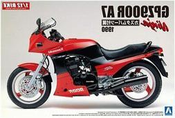 Aoshima 1/12 1990 Kawasaki GPZ900R Ninja A7 Type w/Custom pa