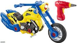 FMT Build Your Motorcycle Take-A-Part Toy for Kids with 20 T