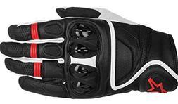 Alpinestars Celer Men's Street Motorcycle Gloves - Black/Whi