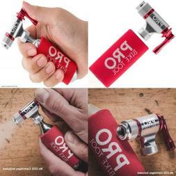 Pro Bike Tool CO2 Inflator, Quick & Easy, Presta and Schrade