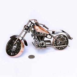 Collectible Art Sculpture Die Cast Harley Davidson Scrap Met