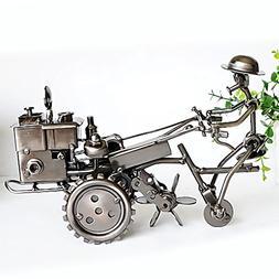 Amperer Collectible Art Sculpture Handmade Metal Motorcycle