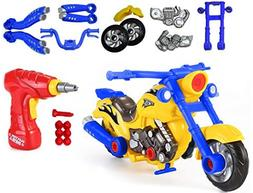 CoolToys Custom Take-A-Part Motorcycle Playset – Motorcycl