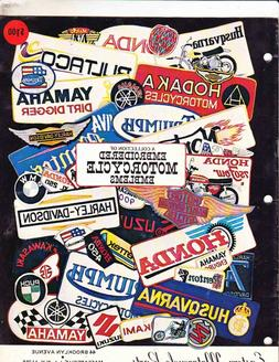 EASTERN MOTORCYCLE PARTS--EMBROIDERED MOTORCYCLE EMBLEMS 20