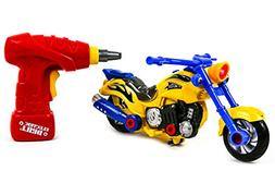 Toysery Educational Take-A-Part Motorcycle Toys For Kids wit