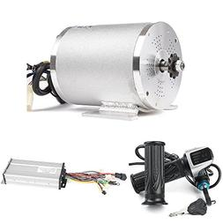 Electric Brushless DC Motor Complete Kit, 48V 2000W 4300RPM