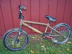 HARO F4 SERIES BMX bike bicycle w/ DEMOLITION EASTERN CANE C