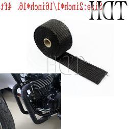<font><b>Motorcycle</b></font> Black 5M <font><b>Exhaust</b>