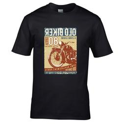 FUNNY retro 80 Year Old Biker Vintage Motorcycle 80th Birthd