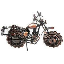 Stuffwholesale Handmade Metal Motorcycle Mold Creative Desk