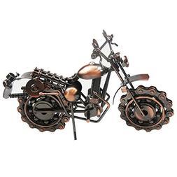 Stuffwholesale Handmade Metal Motorcycle Mold Creative Desk