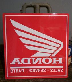 Honda Sales parts service 12 X 12 sign motorcycle advertisin