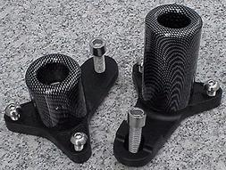 i5 Carbon No-Cut Frame Sliders for Suzuki GSXR600 GSXR750 GS