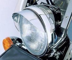 i5 Chrome 7-inch Headlight Visor for Honda Kawasaki Suzuki Y