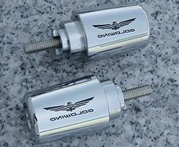 i5 Chrome Bar Ends for Honda Goldwing Gold Wing GL1800 GL180