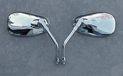 i5 Chrome Cruiser Mirrors to fit Yamaha Handlebar Mount