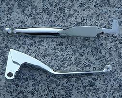 i5 Chrome Front Brake & Clutch Levers for Yamaha Road Star 1