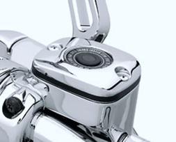 i5 Chrome Front Brake Fluid Reservoir Cap to fit Harley Davi