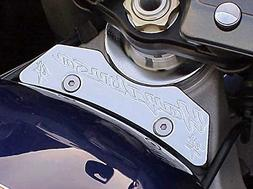 i5® Chrome Gas Tank Clamp for Suzuki Hayabusa 1999-2007.