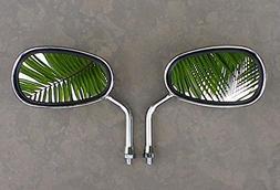 i5 Chrome Mini Mirrors to fit Yamaha Handlebar Mount