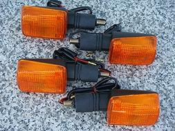 i5 Set of Four FULL-SIZE SHORT-STEM DUAL-SPORT TURN SIGNALS