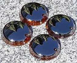 i5 Full Chrome Turn Signal Lenses for Kawasaki Vulcan 500 75